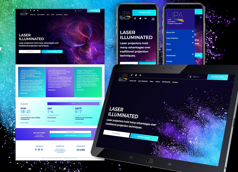 LIPA Website Design