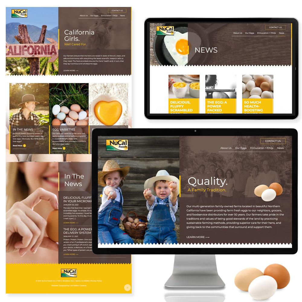 Nucal Foods Website